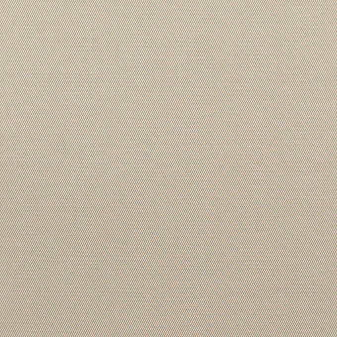 コットン×無地(カーキグレー)×ギャバジン_全3色_イタリア製 イメージ1