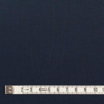 コットン×無地(ダークネイビー)×ギャバジン_全3色_イタリア製 サムネイル4