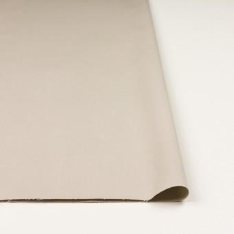 コットン×無地(グレイッシュベージュ)×二重織_全2色_イタリア製 サムネイル3