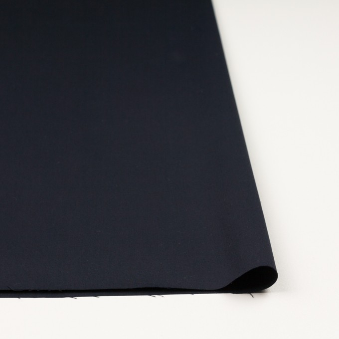 コットン×無地(ダークネイビー)×二重織_全2色_イタリア製 イメージ3