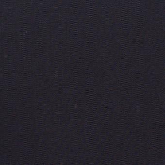 コットン×無地(ダークネイビー)×二重織_全2色_イタリア製