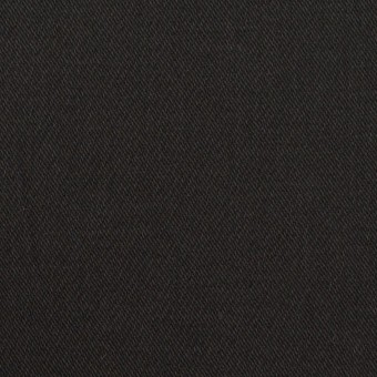 コットン&ポリウレタン×無地(ブラック)×チノクロス・ストレッチ