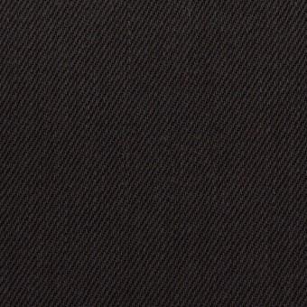 コットン×無地(チャコールブラック)×カツラギ