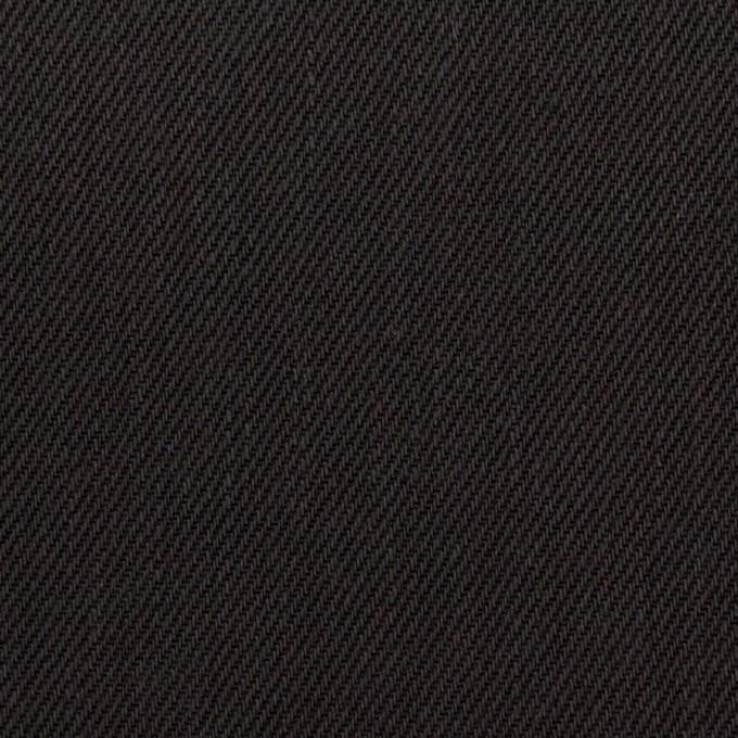 コットン×無地(チャコールブラック)×カツラギ イメージ1