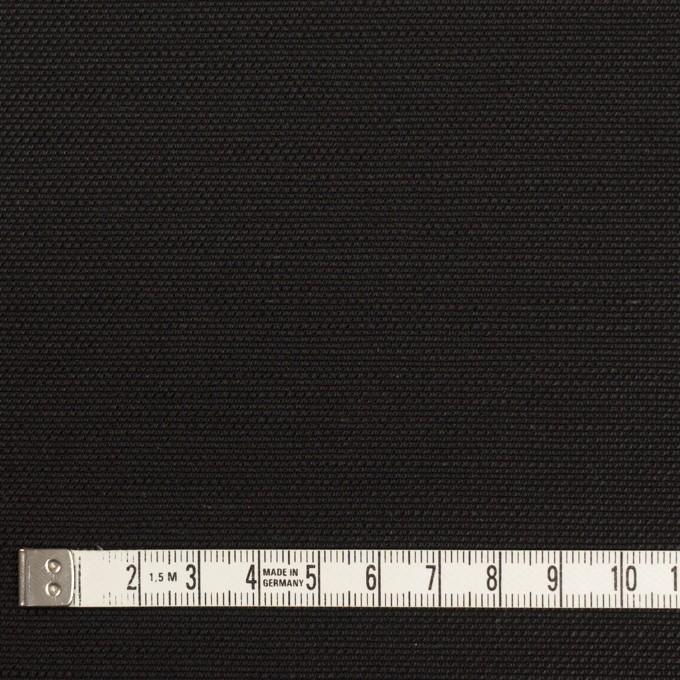コットン&リネン混×無地(ブラック)×キャンバス・ストレッチ イメージ4