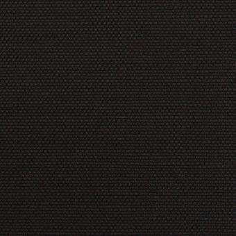 コットン&リネン混×無地(ブラック)×キャンバス・ストレッチ