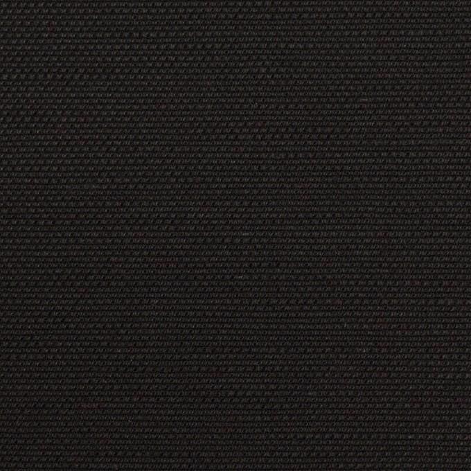 コットン&リネン混×無地(ブラック)×キャンバス・ストレッチ イメージ1