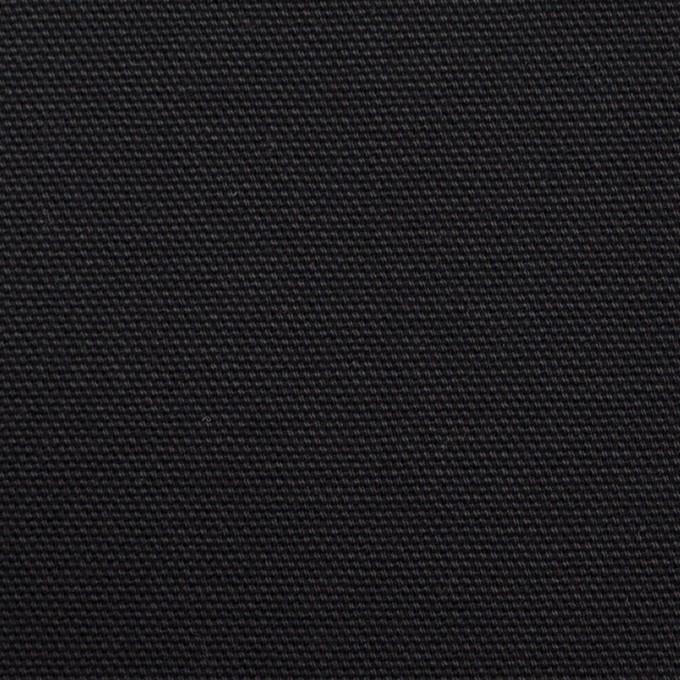 コットン×無地(ブラック)×9号帆布 イメージ1