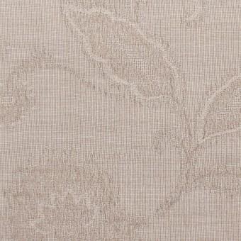 コットン&ナイロン×フラワー(パールグレー)×オーガンジー・ジャガード_全3色 サムネイル1