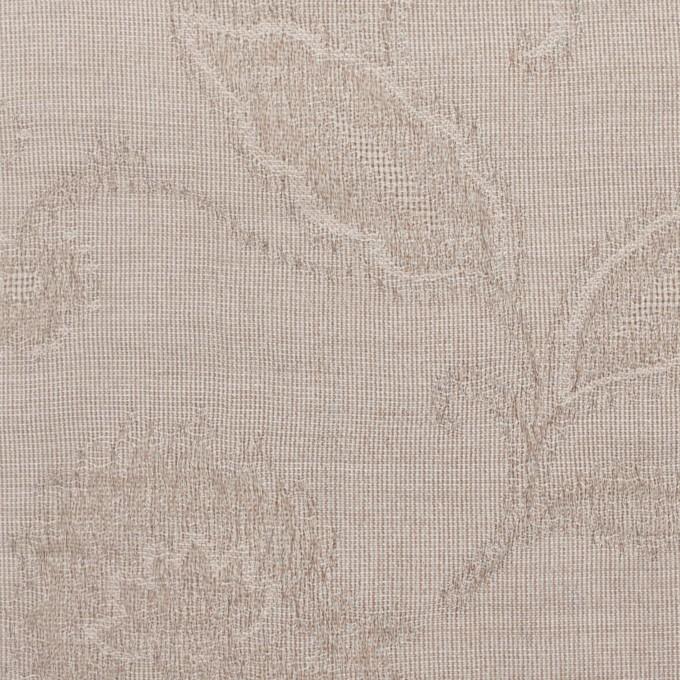 コットン&ナイロン×フラワー(パールグレー)×オーガンジー・ジャガード_全3色 イメージ1