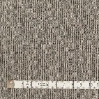 コットン×ミックス(キナリ&ブラック)×かわり織 サムネイル4