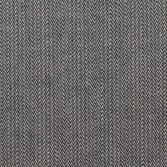 コットン&ポリウレタン×ミックス(チャコールグレー)×ヘリンボーン・ストレッチ