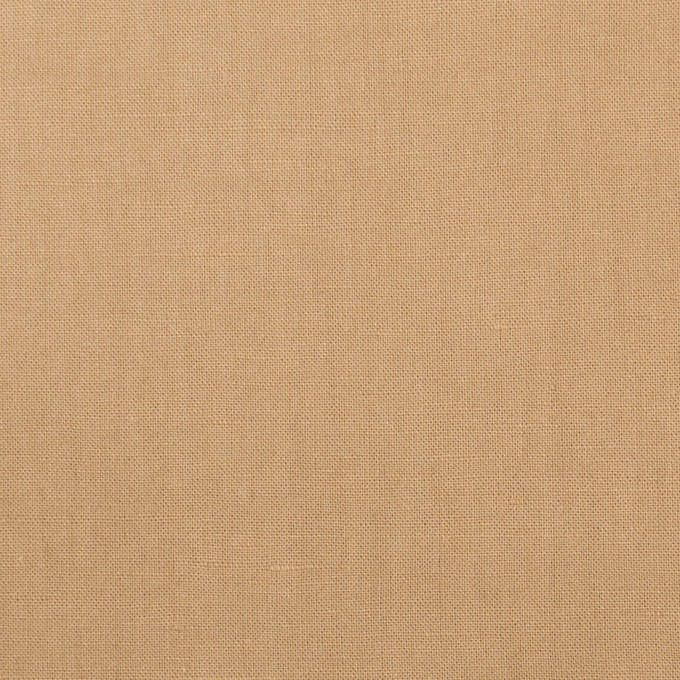 リネン&ビスコース混×無地(オークル)×シーチング・ストレッチ_全2色_イタリア製 イメージ1