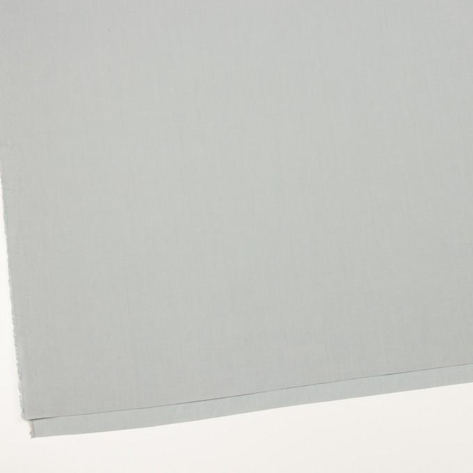 リネン&コットン混×無地(サックスグレー)×ポプリン_全3色_イタリア製 イメージ2