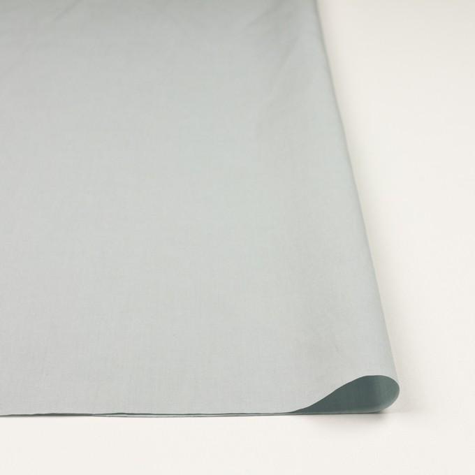 リネン&コットン混×無地(サックスグレー)×ポプリン_全3色_イタリア製 イメージ3