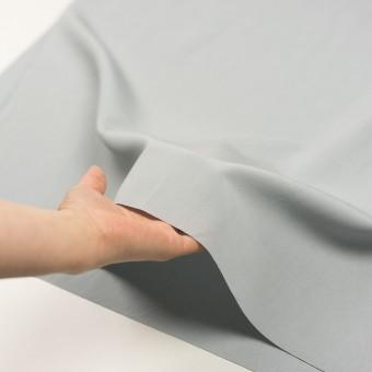 リネン&コットン混×無地(サックスグレー)×ポプリン_全3色_イタリア製 サムネイル5