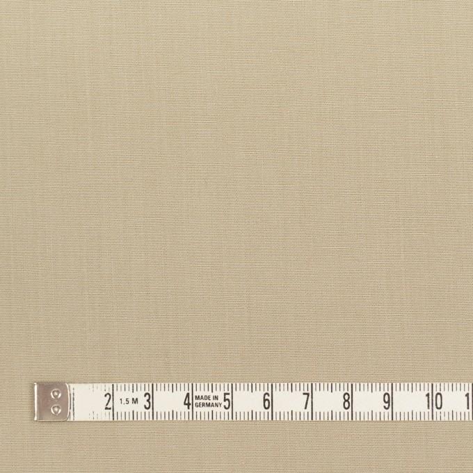 リネン&コットン混×無地(カーキ)×ポプリン_全3色_イタリア製 イメージ4