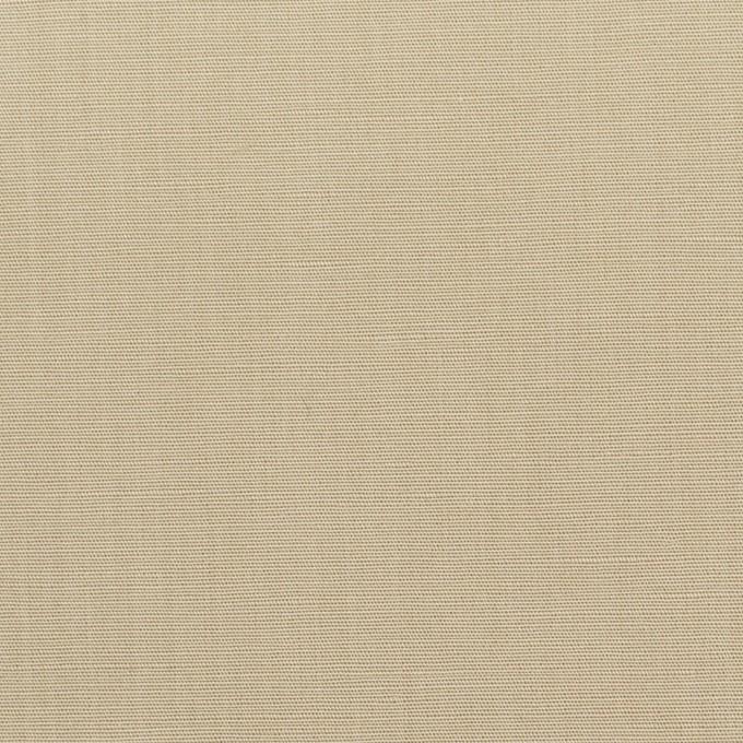 リネン&コットン混×無地(カーキ)×ポプリン_全3色_イタリア製 イメージ1
