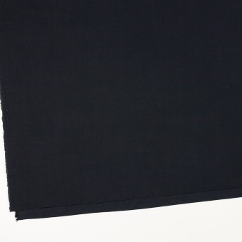 リネン&コットン混×無地(ダークネイビー)×ポプリン_全3色_イタリア製 サムネイル2
