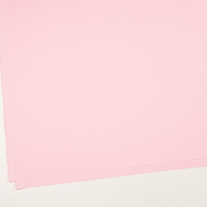 コットン×無地(ペールピンク)×サテン_全7色 イメージ2