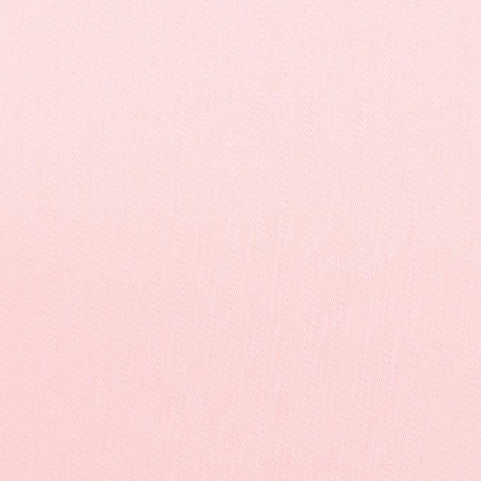 コットン×無地(ペールピンク)×サテン_全7色 イメージ1