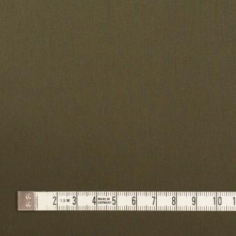 コットン×無地(ダークカーキ)×サテン_全7色 サムネイル4