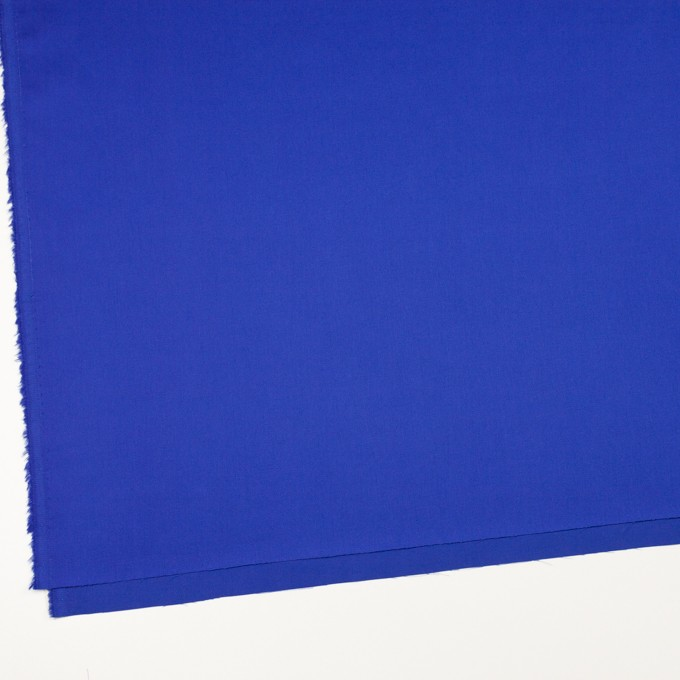 コットン×無地(ロイヤルブルー)×サテン_全7色 イメージ2