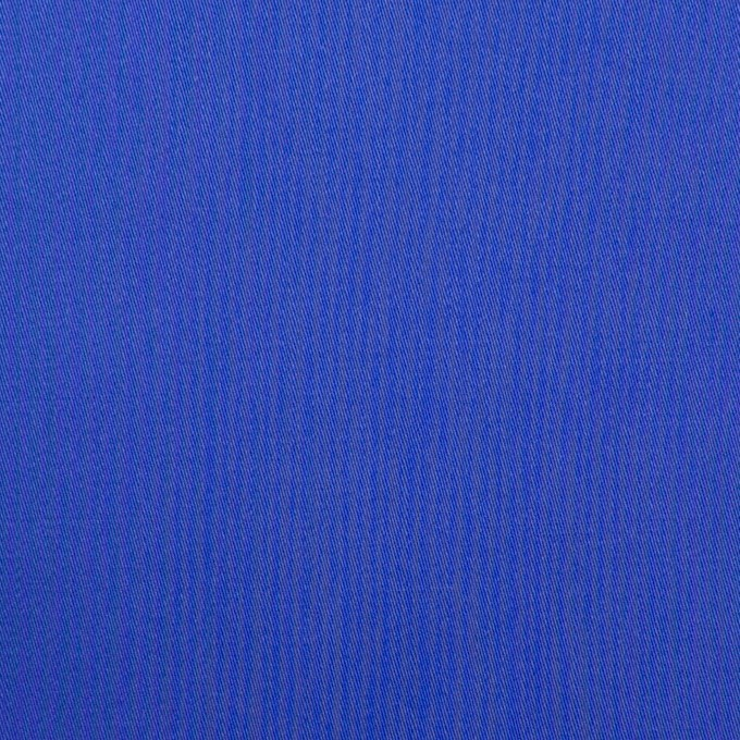 コットン×無地(ロイヤルブルー)×サテン_全7色 イメージ1