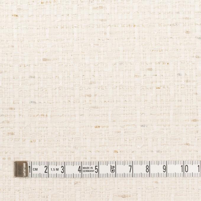 コットン&レーヨン混×ミックス(バニラ)×ファンシーツイード イメージ4