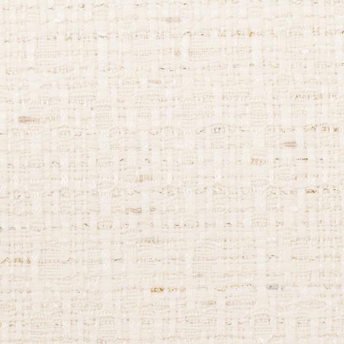 コットン&レーヨン混×ミックス(バニラ)×ファンシーツイード イメージ1