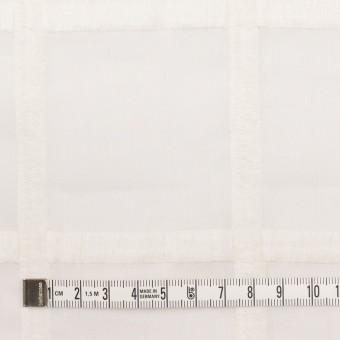 コットン×チェック(オフホワイト)×ボイル刺繍 サムネイル4
