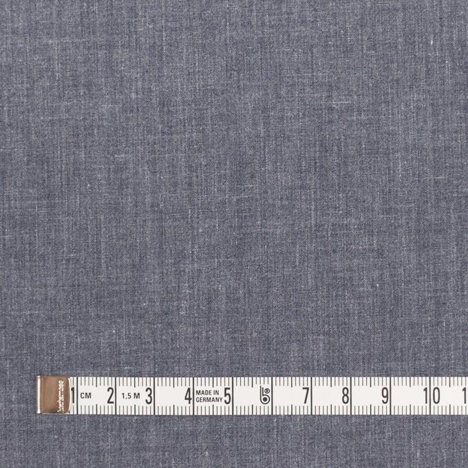 コットン&ポリエステル×無地(アッシュネイビー)×ブロード イメージ4