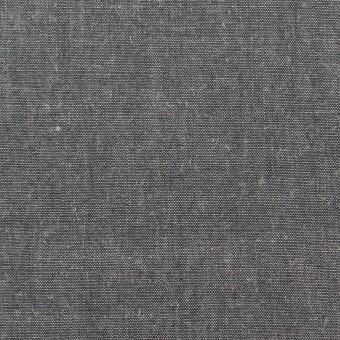 コットン&レーヨン×無地(チャコールグレー)×シャンブレー