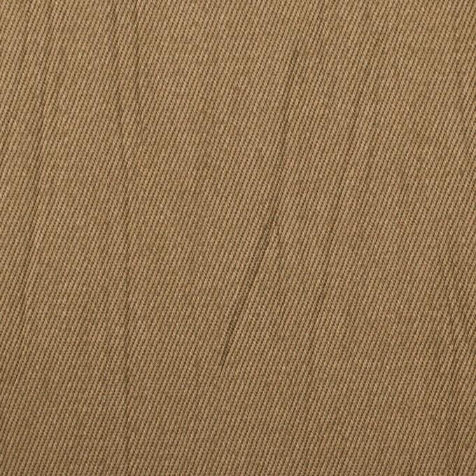 コットン×無地(バーントアンバー)×チノクロス・ワッシャー_全3色 イメージ1