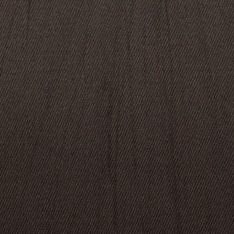 コットン×無地(ビターチョコレート)×チノクロス・ワッシャー_全3色