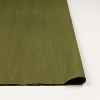コットン&ポリウレタン×無地(カーキグリーン)×かわり織ストレッチ_全2色 サムネイル3