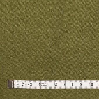 コットン&ポリウレタン×無地(カーキグリーン)×かわり織ストレッチ_全2色 サムネイル4
