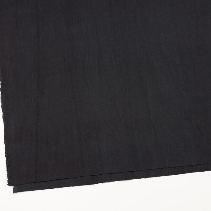 コットン&ポリウレタン×無地(ブラック)×かわり織ストレッチ_全2色 イメージ2