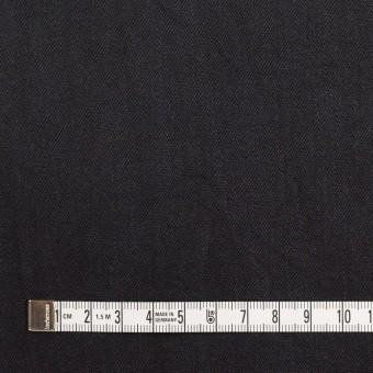 コットン&ポリウレタン×無地(ブラック)×かわり織ストレッチ_全2色 サムネイル4