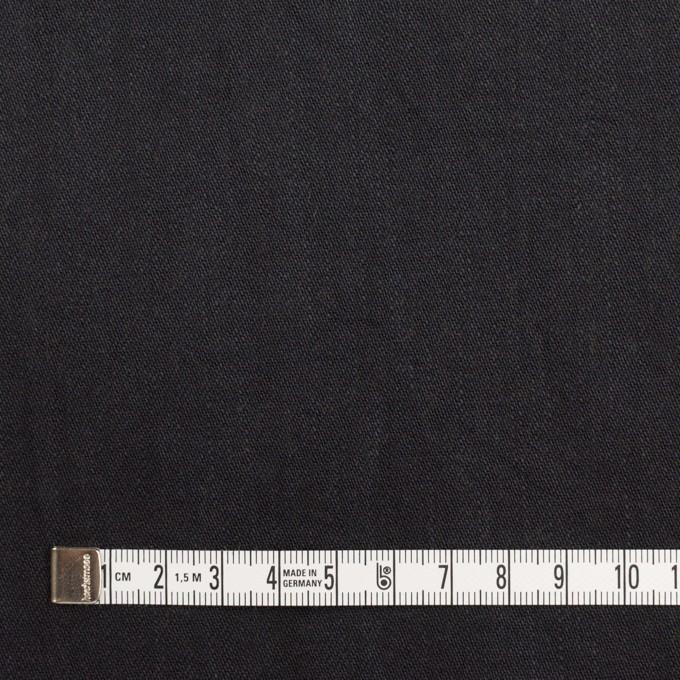 コットン&ポリウレタン×無地(ブラック)×かわり織ストレッチ_全2色 イメージ4