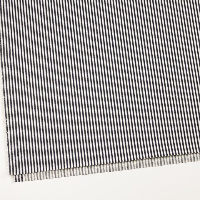 コットン×ストライプ(インディゴ)×デニムヒッコリー(11.5oz) イメージ2