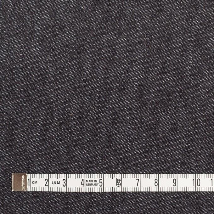 コットン&ポリウレタン×無地(インディゴ)×デニムストレッチ(6.5oz) イメージ4