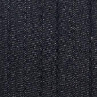 コットン×ストライプ(インディゴ)×デニム(7oz) サムネイル1