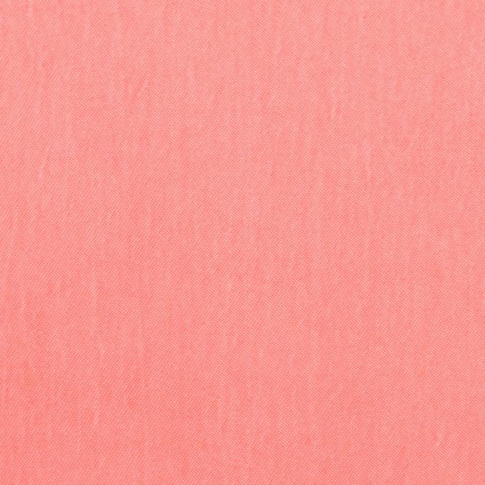 コットン&ポリエステル×無地(ピーチ)×ギャバジン_イタリア製 イメージ1