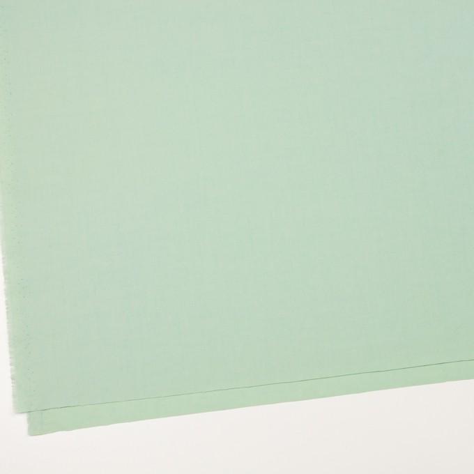 コットン×無地(アイスグリーン)×ブロード_全2色_イタリア製 イメージ2