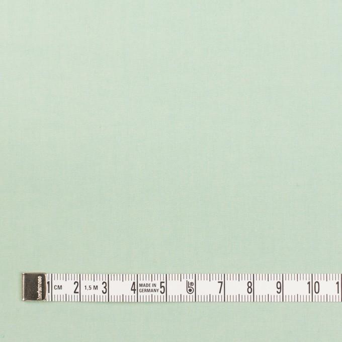 コットン×無地(アイスグリーン)×ブロード_全2色_イタリア製 イメージ4