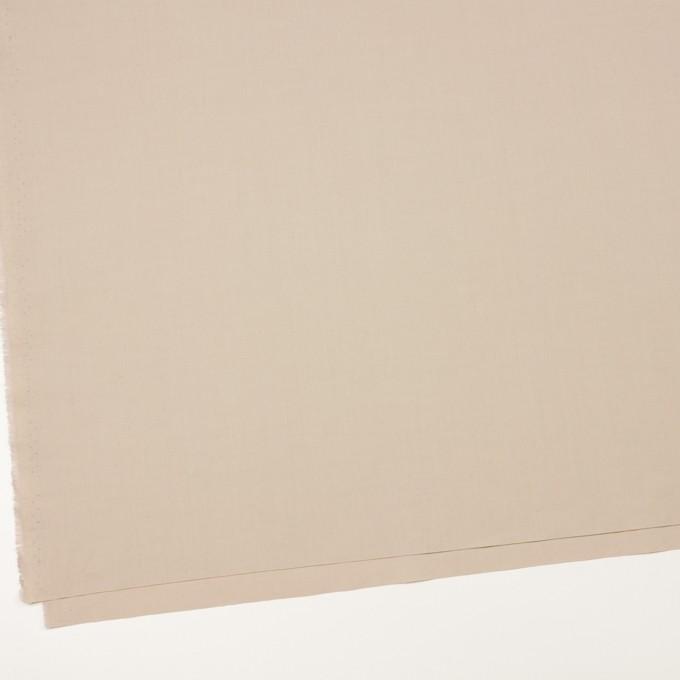 コットン×無地(ベージュ)×ブロード_全2色_イタリア製 イメージ2