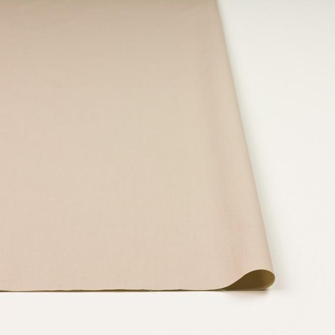 コットン×無地(ベージュ)×ブロード_全2色_イタリア製 イメージ3