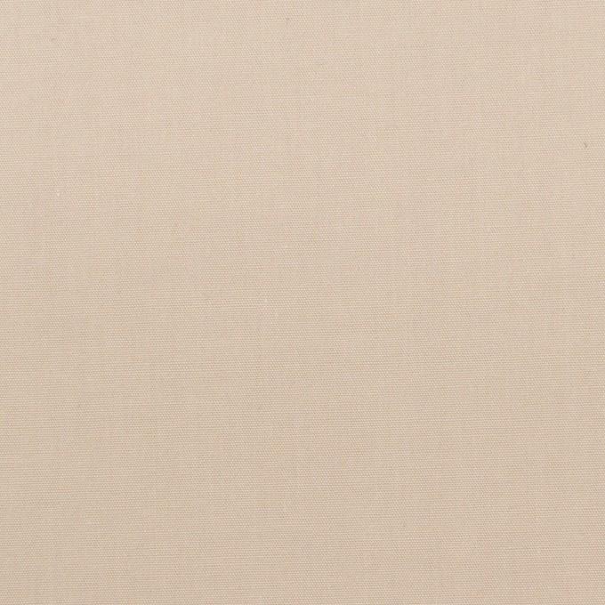 コットン×無地(ベージュ)×ブロード_全2色_イタリア製 イメージ1