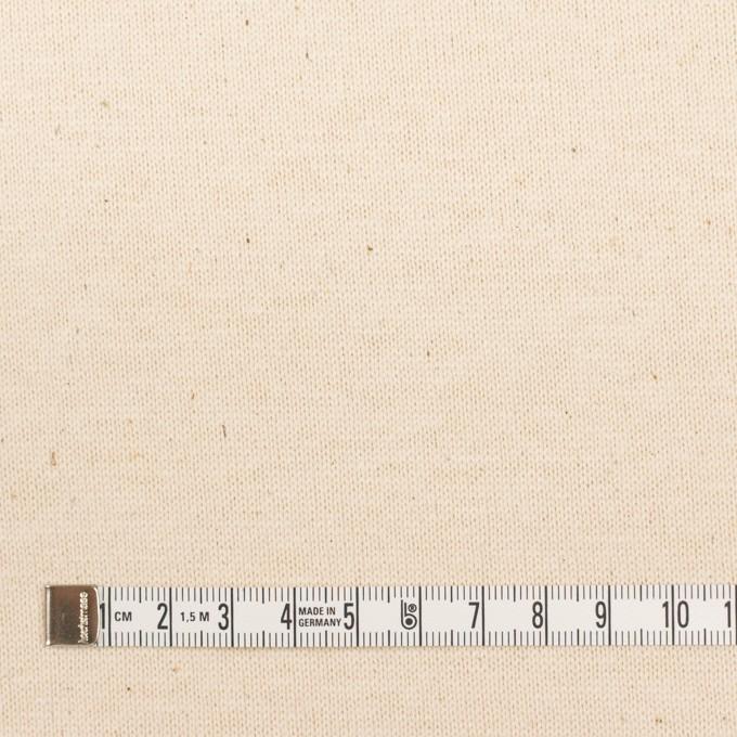 コットン×無地(キナリ)×天竺ニット イメージ4